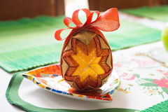 Ribbon Easter egg Royalty Free Stock Photos