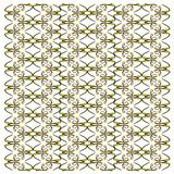 Ribbon Eel, Rhinomuraena quaesita, in repeated pattern stock photos
