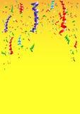 Ribbon element background for celebrate decoration Stock Image