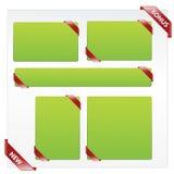 Ribbon elements Stock Photo