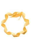 Ribbon  in  form of a circle Royalty Free Stock Photography