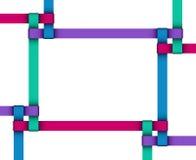 Ribbon frame Royalty Free Stock Photography