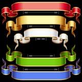 Ribbon frame set with adjusting length 3 Stock Photos