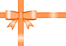 Ribbon for gift box Royalty Free Stock Photography