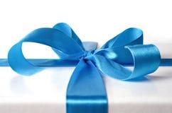 Ribbon for gift box Royalty Free Stock Photos