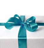 Ribbon for gift box Royalty Free Stock Photo