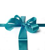 Ribbon for gift box Royalty Free Stock Images