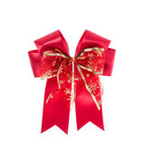 Ribbon for gift box or decoration. Studio shot isolated on white Royalty Free Stock Photo