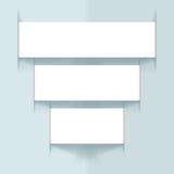 Ribbon Graphic Pyramid Design Stock Photos