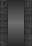 Ribbon gray. Background with a gray ribbon. Vector illustration Royalty Free Stock Images