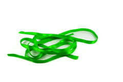Ribbon green Stock Photography