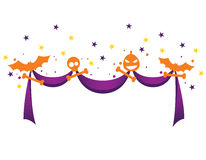 Ribbon for Halloween Royalty Free Stock Photo