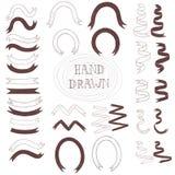 Ribbon hand drawn Stock Images