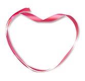 Ribbon heart Stock Photos
