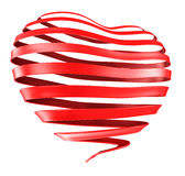 Ribbon Heart Stock Photos