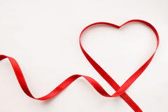 Free Ribbon Heart Royalty Free Stock Photo - 41215765