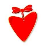 Ribbon Heart Stock Photo