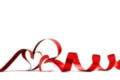 Ribbon hearts Royalty Free Stock Photography