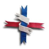 Ribbon interwoven Royalty Free Stock Photography