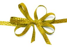 Ribbon isolated Royalty Free Stock Images