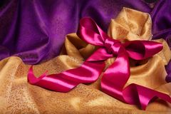Ribbon and kerchief Stock Images