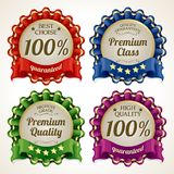 Ribbon labels set Stock Image