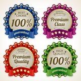 Ribbon labels set Stock Images