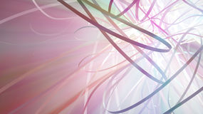 Ribbon Light Spectrum Stock Photography