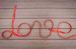 Ribbon of love Royalty Free Stock Photo