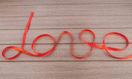 Ribbon of love Royalty Free Stock Photography