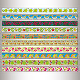 Ribbon motif Tatars Royalty Free Stock Images