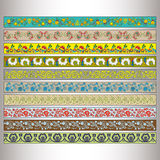 Ribbon motif Tatars Royalty Free Stock Photos