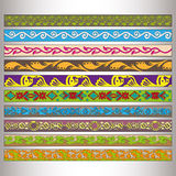 Ribbon motif Tatars Stock Photo