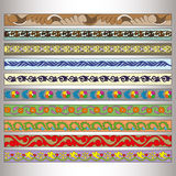 Ribbon motif Tatars Stock Image