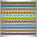 Ribbon motif Tatars Stock Photos