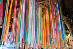 Ribbon multi-colored,. Ribbon multi-colored bright. many Stock Image