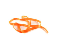 Ribbon orange Stock Images
