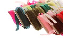 Ribbon organization Stock Photo