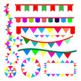 Ribbon for party vector Royalty Free Stock Photo