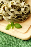 Ribbon pasta Stock Photo