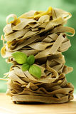 Ribbon pasta Stock Photos