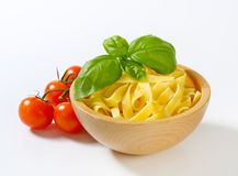 Ribbon pasta Stock Photography