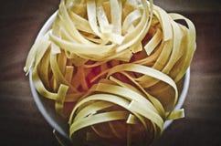 Ribbon pasta Royalty Free Stock Photography