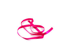 Ribbon pink Royalty Free Stock Photo