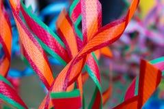 Ribbon plastic Royalty Free Stock Photos