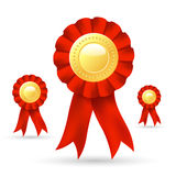 Ribbon prize Royalty Free Stock Photo