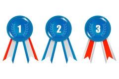 Ribbon Prizes Royalty Free Stock Photography
