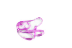 Ribbon purple Stock Image