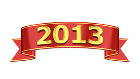 2013 ribbon Stock Photos