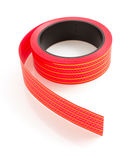 Ribbon roll  on white Stock Image